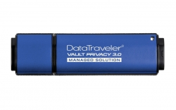 Флеш-носитель Kingston DataTraveler Vault Privacy 3.0 64 GB (Managed Ready)